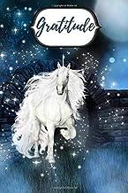 Gratitude: White  unicorn practice journal (Gratitude unicorn)