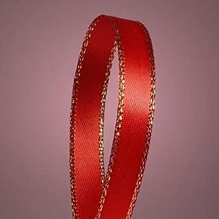 gold christmas ribbon border
