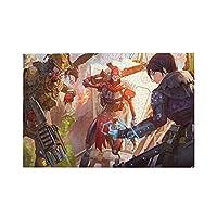 Apex-Legends (3) ジグソーパズル1000ピース-の子供ゲームクラシック教育ギフト家の装飾壁ア減圧パズル素敵なギフト(75x50cm)パズル