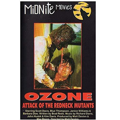 ¡Ozono!Attack of the Redneck Mutants (1986) Posters e impresiones Póster de película Art Stills Decoración Sala de estar Dormitorio Lienzo -20x28 pulgadas Sin marco