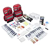 Emergency Zone 4 Person Family Prep 72 Hour Survival Kit/Go-Bag | Perfect Way to...