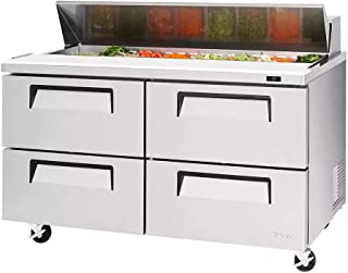 16cf Sandwich Prep Salad Cooler Four Drawers 16 Pans
