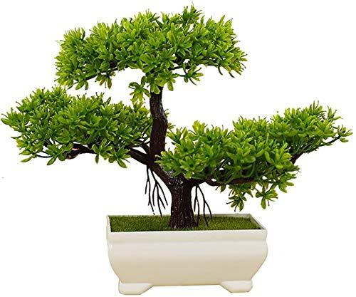 ZJJZ Cedro Bonsai Artificial, Árboles Bonsai Artificiales, Planta Artificial, Réplica de Bonsai/Decoración Plástica Bonsai Bonsai/Decoración para Oficina y Hogar, 131