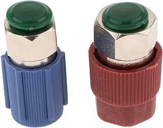 Roja Partes Accesorios de Coches KESOTO 2 Piezas Adaptador de Lado Alto Lateral Bajo con Tapa Azul
