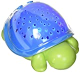Cloud B Supermax The Turtle Night Light, Blue