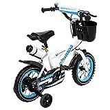 Actionbikes Kinderfahrrad Donaldo - 12 Zoll - V-Break Bremse vorne - Stützräder - Luftbereifung - Ab 2-5 Jahren - Jungen & Mädchen - Kinder Fahrrad - Laufrad - BMX - Kinderrad (12`Zoll) - 5