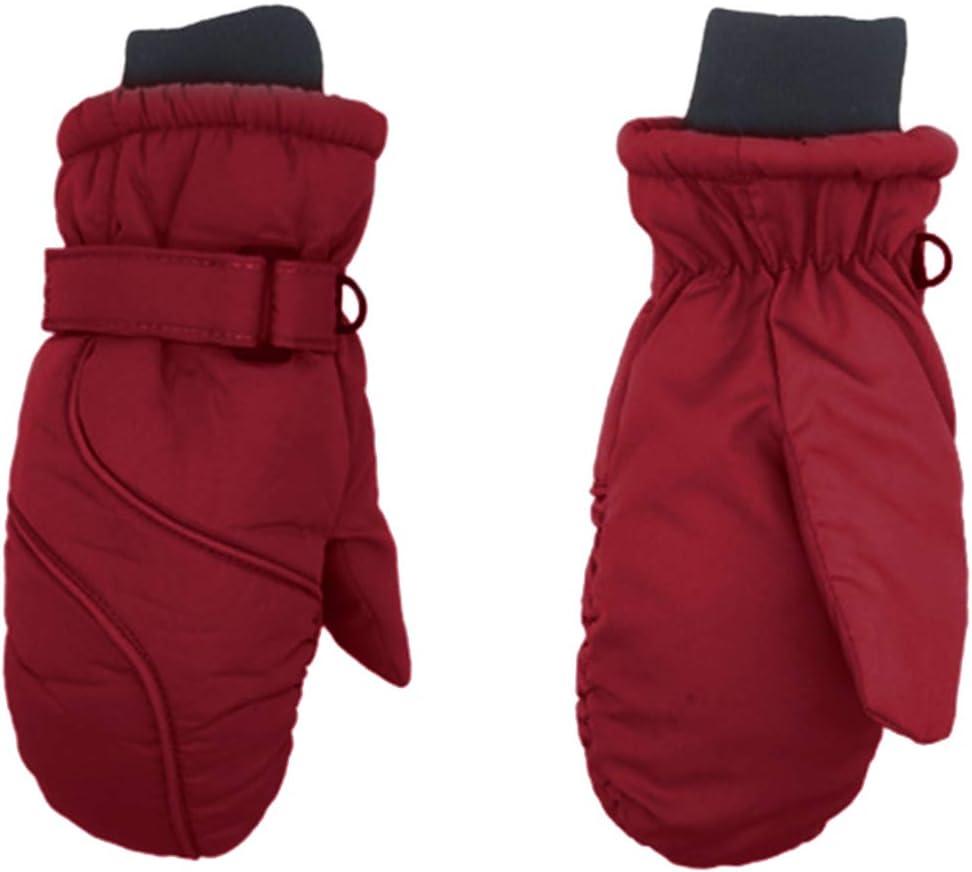 Kinder Winter wasserdichte warme Handschuhe zum Skifahren//Radfahren Kinderhandschuhe f/ür 4 bis 9 Jahre HASKi Warme Kinderhandschuhe
