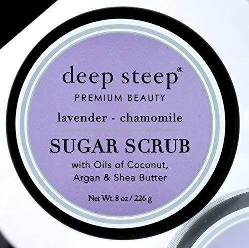 Deep Steep Sugar Scrub, Lavender Chamomile 226 g
