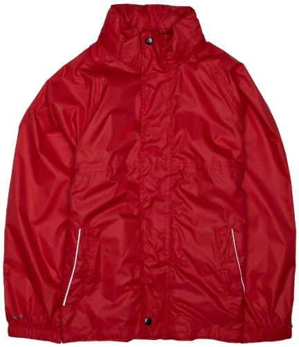 Regatta kinderen regenjas Packaway rood