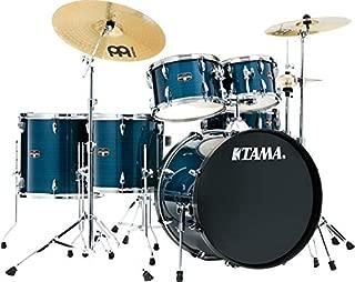 Tama Imperialstar Complete Drum Set - 6-Piece - Hairline Blue