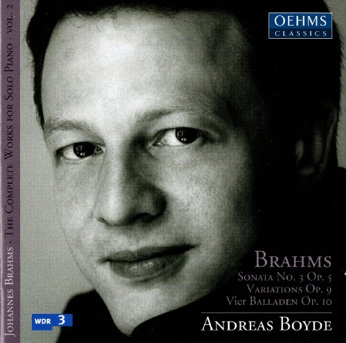 Brahms: The Complete Works for Solo Piano, Vol. 2