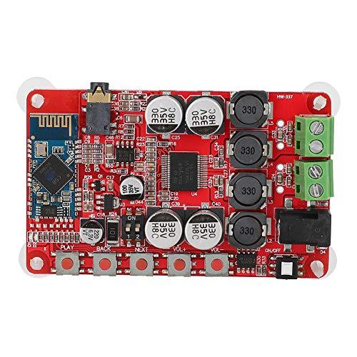 Mugast TDA7492P Professionele stereo-versterkerplaat (2 x 50 W), compatibel met bluetooth- en AUX-audio-ontvanger