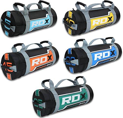 RDX Fitness Sandbag Sacca Allenamento Weight Power Bag Pesi Palla Medica Maniglie