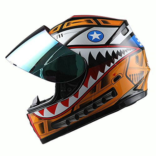WOW Complete-Face BMX MX Motorbike Helmet For Kids