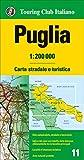 Puglia 1:200.000. Carta stradale e turistica...