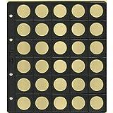 Pardo-Pardo 753-6 Fundas Monedas Alma Opaca Negra 30 Alojamientos modelo 75300