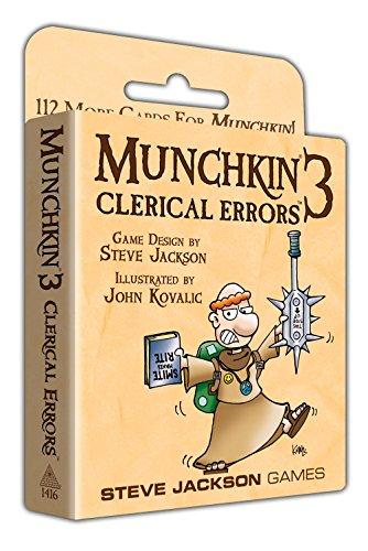 Steve Jackson Games - Munchkin 3 - Revised Color Card Game