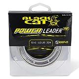 Black Cat Ø1,20mm Power Leader 20m 100kg,220lbs, Grün, 1,20 mm