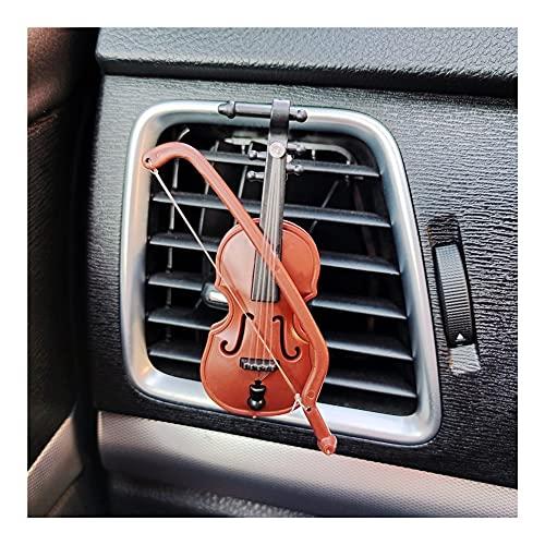 XIUHUA Violin Car Air Freshener Perfume Clip Creative Vintage Mini Violin...