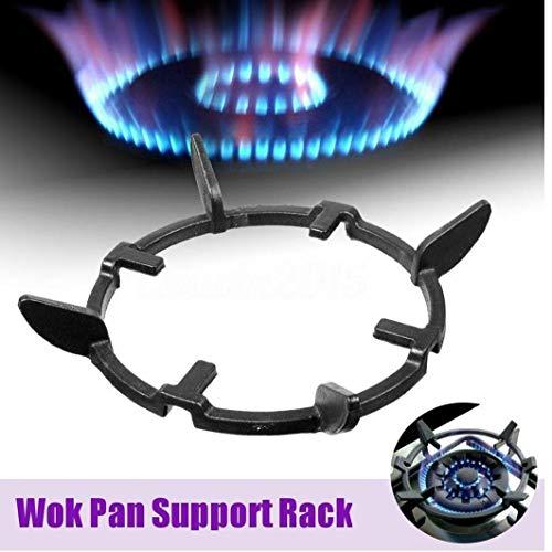 Angoter Universal-Iron Wok Pan Support Rack-Ständer für Gasherd Regal Herd Küchenzubehör
