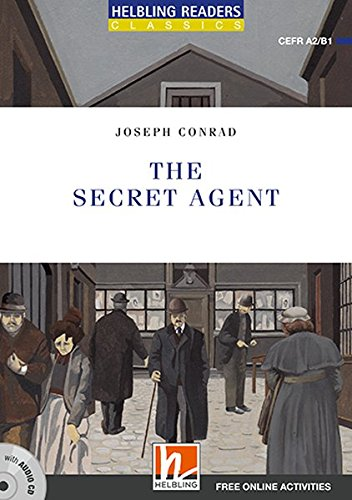 The Secret Agent, mit 1 Audio-CD: Helbling Readers Blue Series / Level 4 (A2/B1) (Helbling Readers Classics)