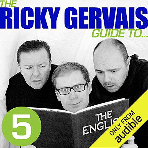 Ricky Gervais Guide to... THE ENGLISH  audiobook cover art