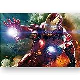 GXWBH-Puzzle Iron Man Hulk For Adultos Rompecabezas 300/500/1000 / 1500P Cubierta Ocio Descompresión del Juguete P04/27 ( Color : B , Size : 300P )