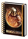 Star Wars: The Mandalorian – Cuaderno de notas A5 en espiral (Bounty Hunter)