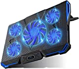 Carantee Laptop Cooling Pad Noiseless Notebook Cooler Pad Stands Adjustable Laptop Cooler USB Powered