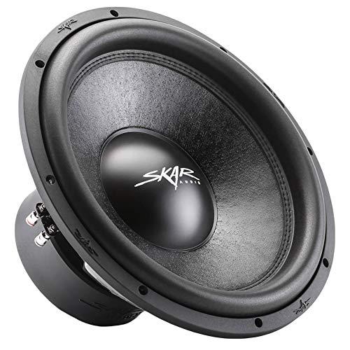 "Skar Audio SVR-15 D4 15"" 1600 Watt Max Power Dual 4 Ohm Car Subwoofer"