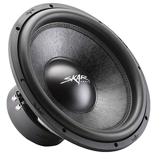 "Skar Audio SVR-15 D2 15"" 1600 Watt Max Power Dual 2 Ohm Car Subwoofer, 15"" - Dual 2 Ohm"