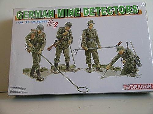 Dragon Gerhomme WW II Mine Detectors Plastic Military Miniatures by Dragon Models USA