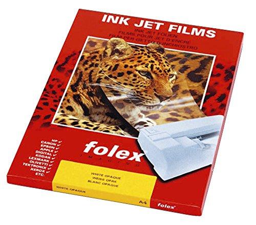 Inkjet-Folie, Sorte BG-32.5 RS Plus, Stärke 0,10mm, PG=50ST, A4