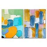 pktmbttoveuhgf Póster Abstracto Color patrón de Pintura Graffiti Empalme Lienzo Pintura hogar Imagen Pared Arte Moderno Sala de Estar decoración del hogar