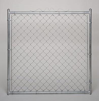 Chain Link Walk Gate, 9 ga, 48 W x 48 In H