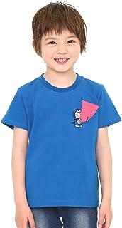 (グラニフ) graniph キッズ Tシャツ どこでもドア (ドラえもん) (ブルー) キッズ (g28)