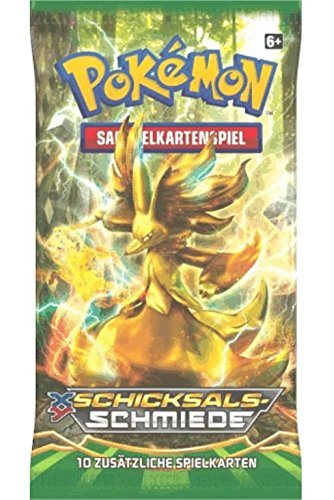 Pokemon XY10 Schicksalsschmiede - ein Booster (kein Display)