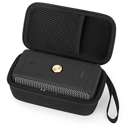 Funda para altavoz Bluetooth Marshall Emberton, funda protectora de viaje, funda Cover Case (negro)