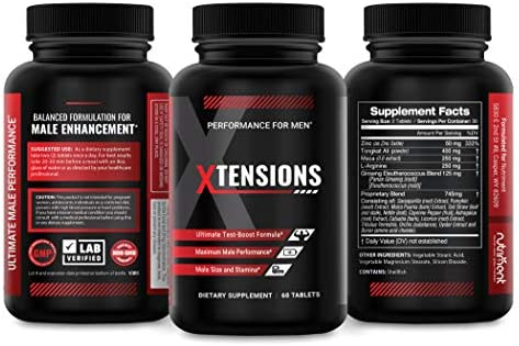 Male Performance and Enlargement Pills Size Enhancement for Men for Increased Male Size Length product image