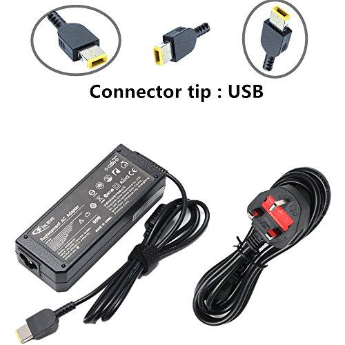 Siker 20V 4,5A Ac Adapter Akku Ladeger?t Netzteil Für Lenovo Thinkpad X1 Carbon Touch Ultrabook 45N0236,45N0237,45N0238,45N0239 Z510 6277-9Qu Pa-1900-081 Schwarz