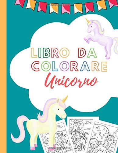 libro da colorare Unicorno: 15 dinosauri da colorare e ritagliare I Libretto da colorare per bambini, ragazzi e ragazze