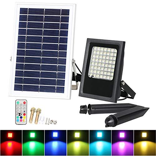 Luci a energia solare Rgb-50 W.