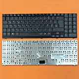 kompatibel für Medion AKOYA P7611, P7612 Tastatur - Farbe: Schwarz - Deutsches Tastaturlayout