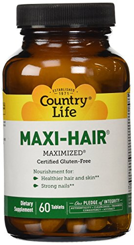 Country Life Maxi Hair , 60-Tablet by Country Life