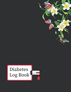 Diabetes Log Book: 2 years, Daily Target Blood Sugar Range Insulin Does Carb Phys Activity Record (Bee-Design)
