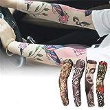 JinRui-Sport Tattoo Sleeve Sonnenschutz Sonnenschirm mit dünnen Ärmeln, L, 20 Modelle - J70 2er-Pack
