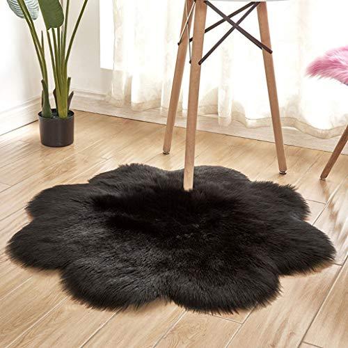 Scrolor Wohnzimmer Teppiche weichbodenmatte rutschfeste Matten Haarige Weiche Flauschige Kunstpelz Teppich Matte Hause Bodendekoration