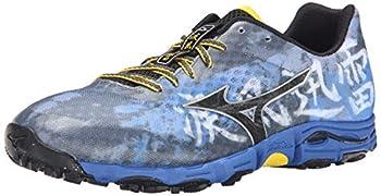 Mizuno Men s Wave Hayate Trail Running Shoe,Turbulence Black,9.5 D US