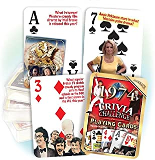 Best 1974 trivia playing cards Reviews