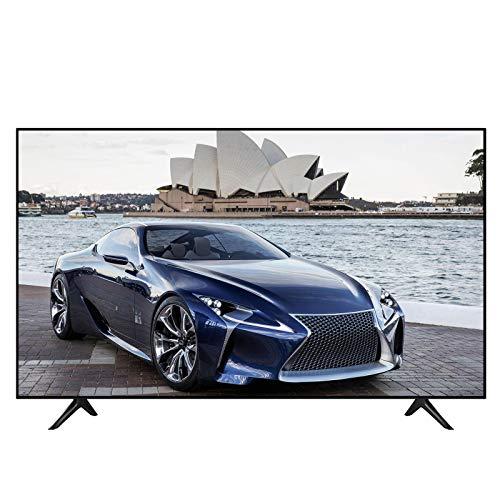 Ultra HD Smart TV, HDR Smart TV 50/55/60 Pulgadas LED HD TV Altavoz Incorporado de diseño Ultrafino HDMI con múltiples Conectores Puerto USB y Control Remoto